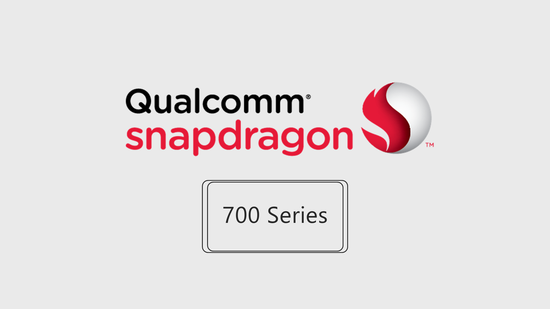 Qualcomm Announced Snapdragon 700 Series