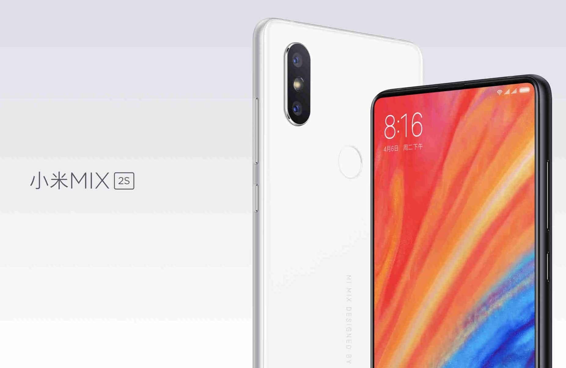Xiaomi Mi Mix 2S Announced – Everything At A Glance